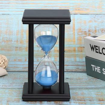 5/15/30min Wooden Sand Clock Sandglass Kitchen School Hourglass Timer Home Decor Early Learning Intelligence Developmental Toy недорого