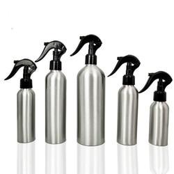 1pc 30-500ML Aluminum Bottle Empty Spray Bottles Pump Sprayer Fine Mist Spray Refillable Bottles Water Spray Bottle Sprinkler