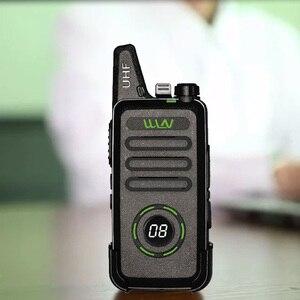 Image 4 - WLN KD C1 plus UHF 400 470MHz MINI ręczny nadajnik fm KD C1plus dwukierunkowy Radio Ham komunikator Walkie Talkie z scrambler