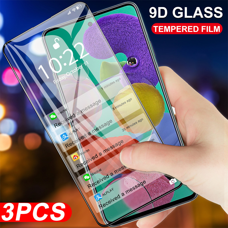 9D Tempered <font><b>Glass</b></font> For <font><b>Samsung</b></font> <font><b>Galaxy</b></font> A9 A8 A6 Plus J8 J6 <font><b>J4</b></font> <font><b>2018</b></font> A750 A920 A730 A530 Screen Protector Full Cover Protective Film image