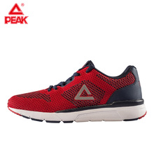PEAK Men's Running Shoes Wearable Cushion Culture Sports Breathable Comfort Fitness Sports Shoes Soft Sole Sneaker E72537E цена
