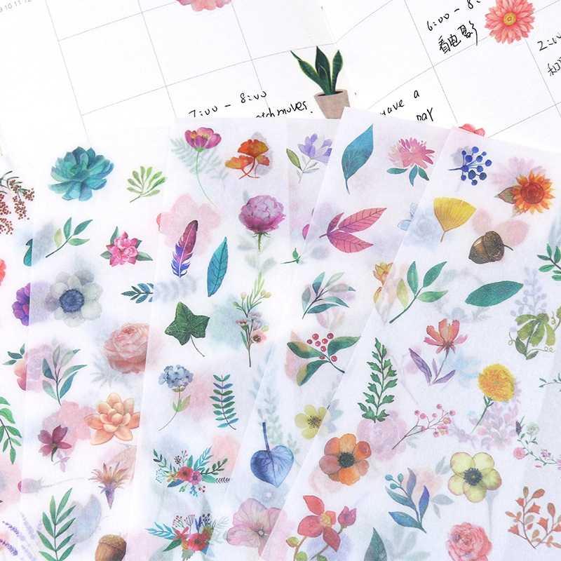 Kartun Anime Stiker Kawaii Gadis Stiker Ponsel Buku DIY Ablum Diary Scrapbooking Dekorasi Label Mainan Anak-anak Stiker Hadiah