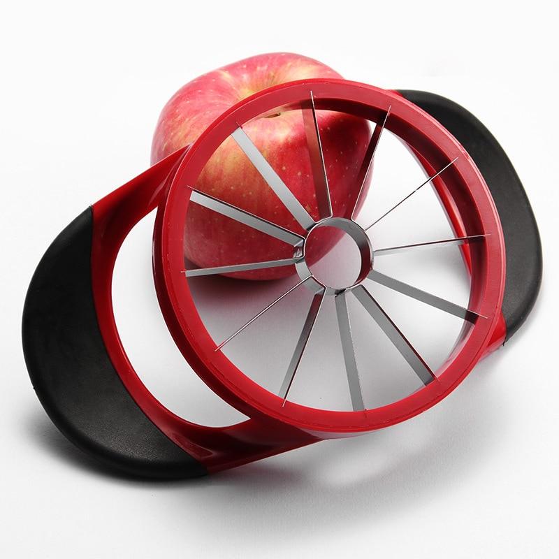 1 шт резчик для яблок Нержавеющаясталь прибор для резки фруктов Груша нож для удаления сердцевины и нарезания Ножи Овощечистка инструмент ...