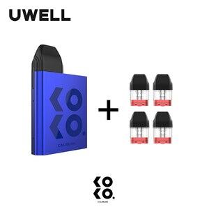 Image 2 - UWELL Caliburn KOKO Pod System Kit and 1Pack 1.2ohm 2ml Refillable Pod Cartridge Top Fill Vape Pod System