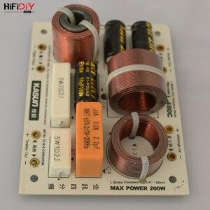 Image 5 - HIFIDIY L 480C en vivo de 3 vías, 4 altavoces, tweeter + mid + 2 * bass, HiFi, divisor de frecuencia de audio, filtros cruzados