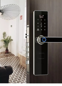 Image 5 - Tuya สมาร์ทประตูล็อคลายนิ้วมือกันน้ำ APP Keyless USB ชาร์จประตูล็อค