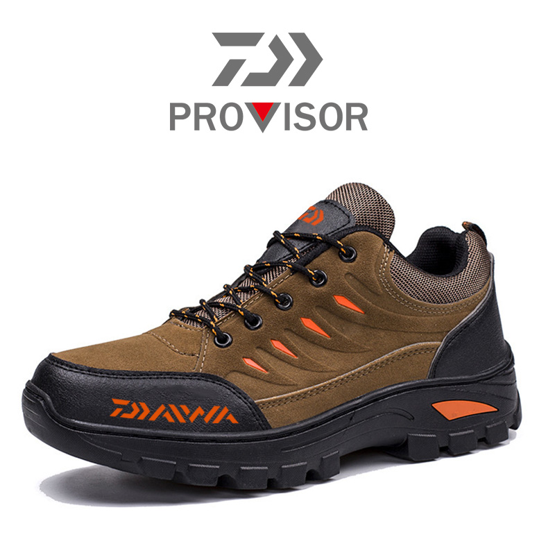 2020 New Daiwa Men Fishing Winter Warm Outdoor Shoes DAWA Fishing Shoes Breathable Anti-skid Fishing Shoes Climbing Shoes