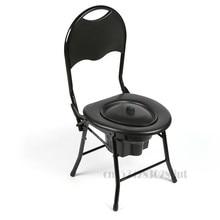 Складной туалетный стул для пожилых людей, туалет для инвалидов, портативный многофункциональный туалетный стул для палаты и спальни