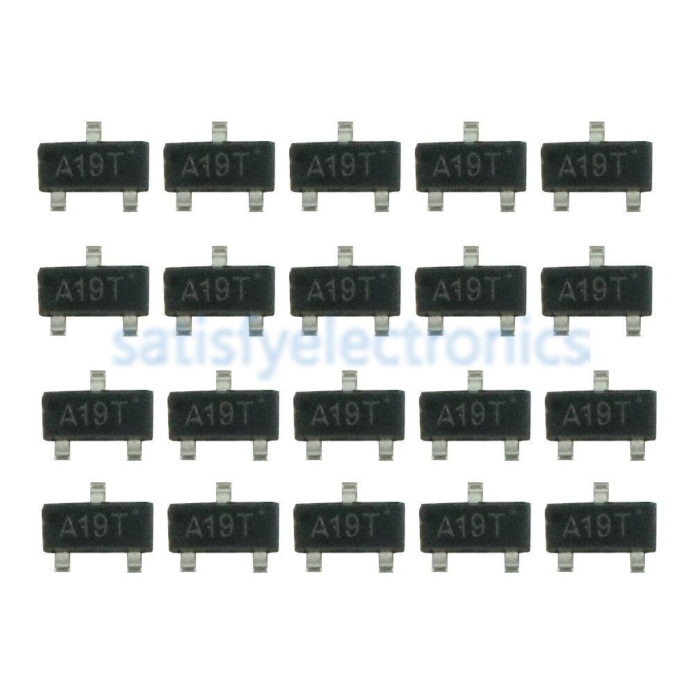 20PCS AO3401 A19T 3401 SOT-23 P-Channel MOSFET TRANSISTORS