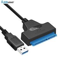 USB SATA 3 Kabel Sata Zu USB 3,0 Adapter BIS Zu 6 Gbps Unterstützung 2,5 Zoll Externe SSD HDD Fest stick 22 Pin Sata III A25