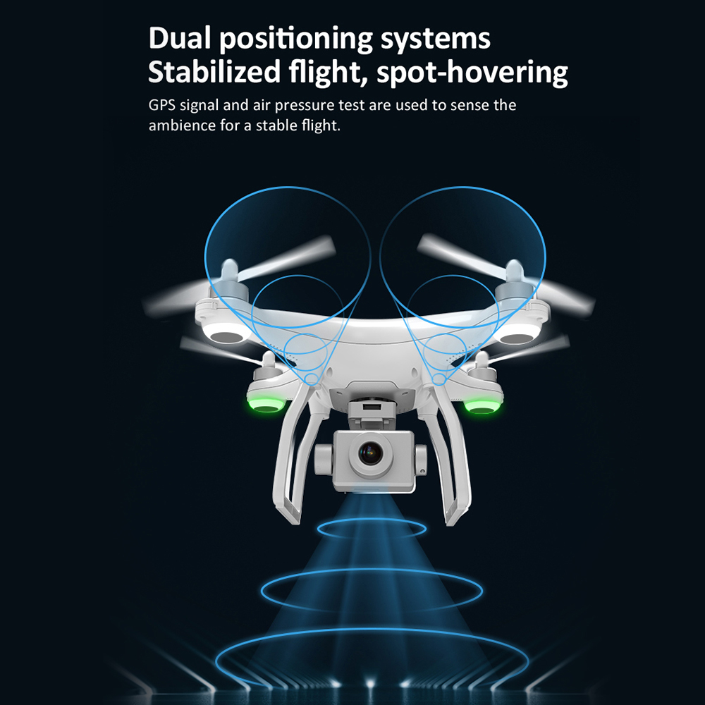 cheapest X35 4K 1080P Video Gimbal Full HD Camera RC Drone FPV 5G WIFI Professional Quadcopter GPS Positioning 22 Minutes Flying Time