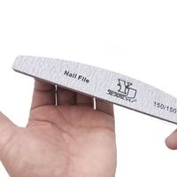 2/5pcs/lot Nail File Mix Color Limas 80/100/150/180/240 Grit Sandpaper Disposable Cuticle Remover Buffers Manicure Tool Set
