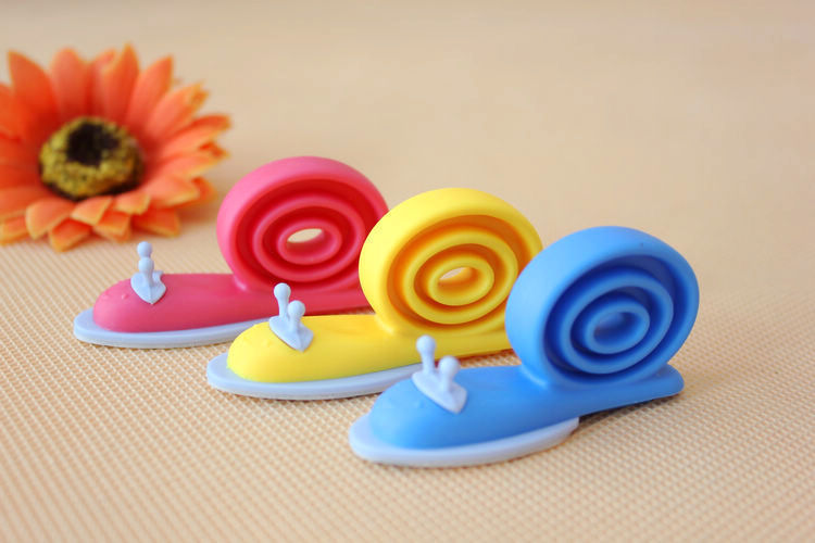 3 Pieces / Pack Cute Snail Animal Shaped Silicone Door Stopper Wedge Holder For Children Kids Safety Guard Finger Protector
