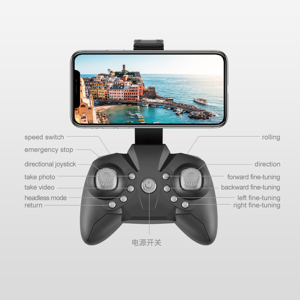 LF606 Mini RC drone with 4K 5MP HD Camera Foldable drones Altitude Hold D2 Pocket Profesional Quadcopter Dron Gift Toys for boys