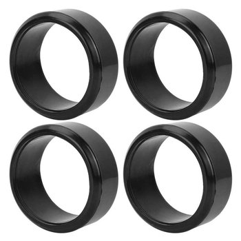 4pcs 63*26mm Tyre Model Car Accessories For 1:10 Model Drift Car Hard Skin Smooth Drift Rubber Tire Skin image