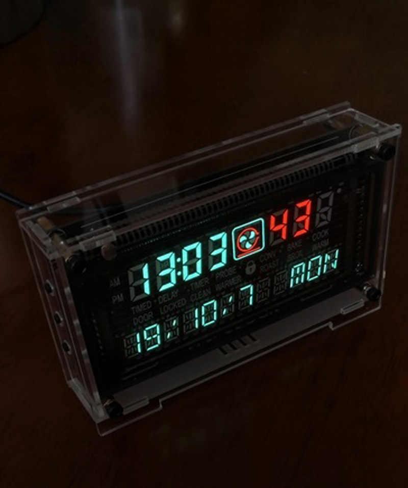 12/24 часовые высокоточные VFD часы с двойным дисплеем электронное время RX8025T