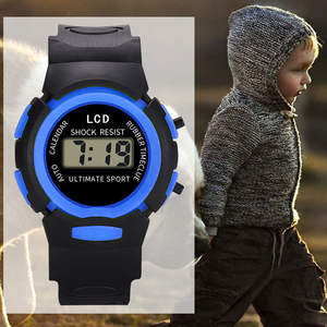 Watch Children Comfortable Silicone Electronic Kids Casual Fashion And