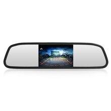 Moniteur de rétroviseur de voiture HD vidéo moniteur de stationnement automatique TFT LCD écran 4.3 affichage avec boîte de détail