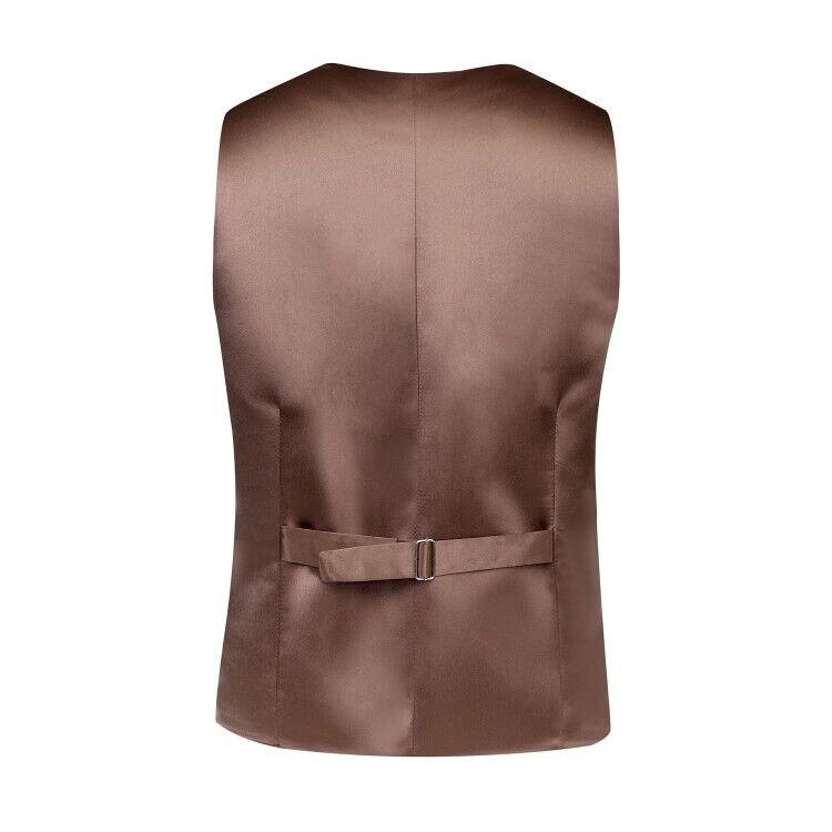 Brown Donegal Tweed Back