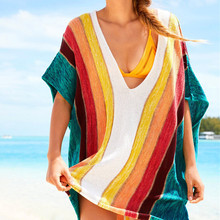 Beach Dress 2019 Tunic Sexy Women Summer Dresses Casual Dress Print Summer Tunic Plus Size Bohemian Beach Dresses цена и фото