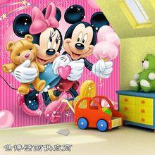 Papier peint mural pour chambre à coucher, Mini peintures Mickey Mitch, tailles personnalisées