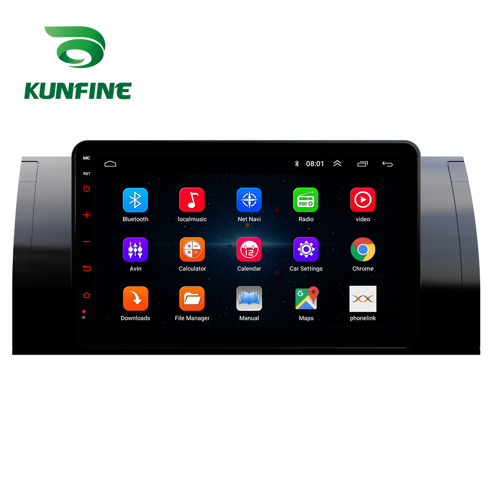 Octa Core Android 10.0 Car DVD GPS Navigation Player Deckless Car Stereo for <font><b>BMW</b></font> M5 <font><b>E39</b></font> X5 E53 Headunit Radio image