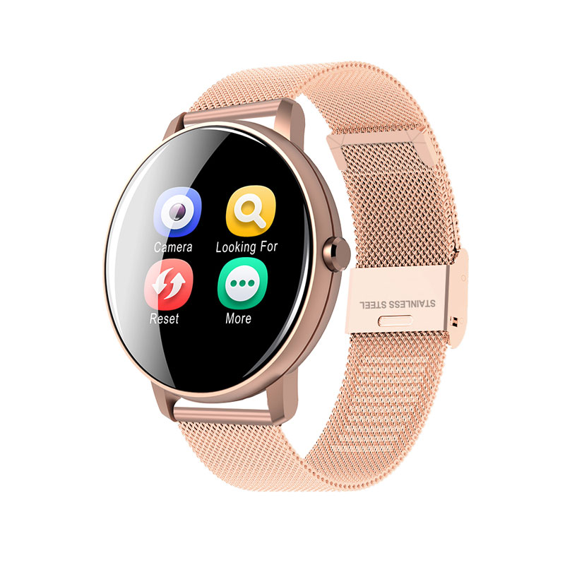Hd72d8171c2944dbabdb7e0b50743ac91M 2020 Full Touch Smart Watch Men Blood Pressure Heart Rate Monitor Round Smartwatch Women Waterproof Sport Clock For Android IOS