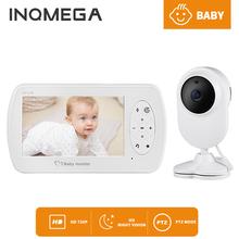 INQMEGA bezprzewodowe wideo Babyphone niania elektroniczna Baby Monitor 4 3 Cal kamera Night Vision monitorowanie temperatury Baba Eletronica Babyfoon tanie tanio wireless VIDEO HD 1080 P CN (pochodzenie) color CMOS Domofon IP Sieci APLIKACJI Telefonu komórkowego Dziecko Cry Alarmu
