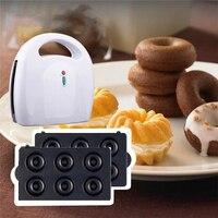 4 in 1 Breakfast Machine Biscuit Machine Waffle Maker Donut Machine Snack Machine Camping Helper 750W EU Plug