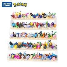 24 Pçs/set Tomy Pokemon Ir 2-3cm Sem Repetição 144Pcs Diferentes Estilos Coleção Figuras Anime Bonecas Modelo Pikachu Jogo Brinquedo do Miúdo