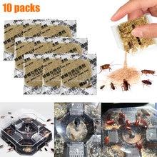 10 шт. приманка для уничтожения тараканов борьба с вредителями мощная приманка для уничтожения тараканов кухонная бытовая с использованием GHS99