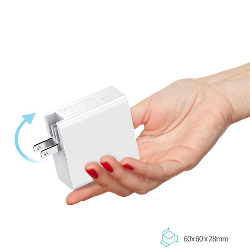 USB-C адаптер питания 87 Вт QC3.0 USB PD3.0 настенное зарядное устройство для ноутбуков MacBook iPhone 11/11pro,US UK EU AU