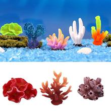 New  Aquarium Artificial Coral Resin Underwater Fish Tank Decoration Ornament