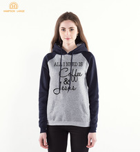 2020 Spring Autumn Women Sweatshirts All I Need Is