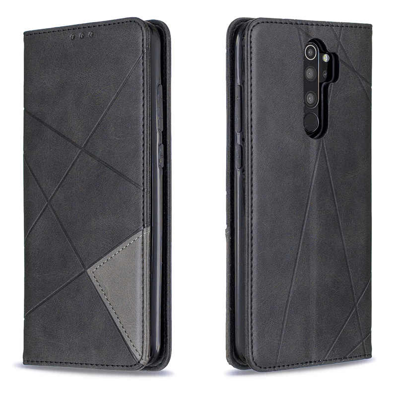 Magnetic absorption Leather Case Wallet Cover For Xiaomi Redmi NOTE 8 Pro Flip Card Holder Stand Book Redmi NOTE 8T 8A 8
