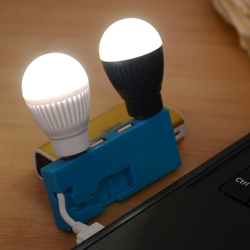 Mini USB LED Lights Lamp Bulb Computer Lamp For  PC Reading Portable Flexible Book Lights  Super Bright USB Led Reading Lights