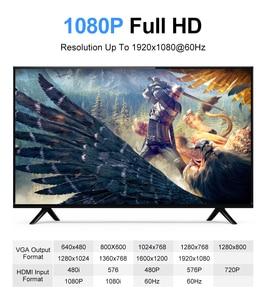 Image 5 - Amkle HDMI ל vga מתאם כבל HDMI VGA ממיר כבל תמיכה 1080P עם אודיו כבל עבור HDTV XBOX PS3 PS4 המחשב נייד הטלוויזיה