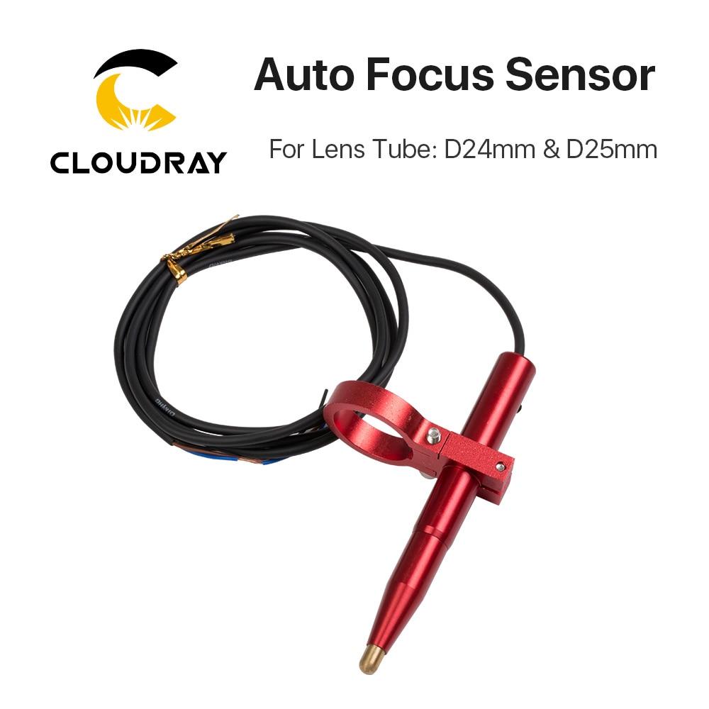 Axe Z de capteur de mise au point automatique de Cloudray pour la découpeuse motorisée automatique de gravure de Laser de CO2 de tableau vers le bas