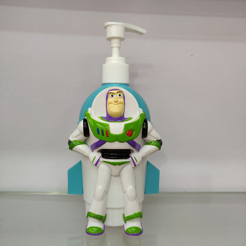 1pc 17cmToy Story 4 Woody Lightyear Jessie Spide Man Liquid Soap Bath Box Movie Toy Story Kids Gift Collection B642 in Action Toy Figures from Toys Hobbies