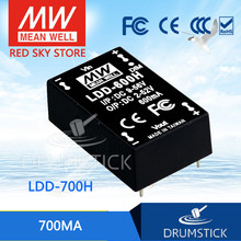 Mean Well LDD-700H 2 ~ 52VDC 700mA Meanwell LDD-700 DC-DC LED Driver Pin Tyle(China)