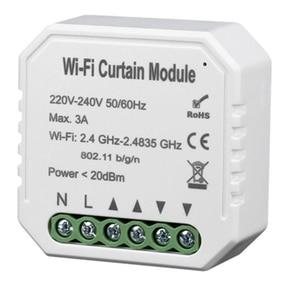 Image 2 - Tuya Smart Life WiFi Curtain Switch Module for Roller Shutter Electric Motor Google Home Alexa Echo Smart Home
