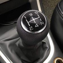 Perilla de palanca de cambios para coche, palanca de cambios Universal para CITROEN C1, C3, C4, PEUGEOT 205, 206, 106, 107, 207, 306, 5 perillas