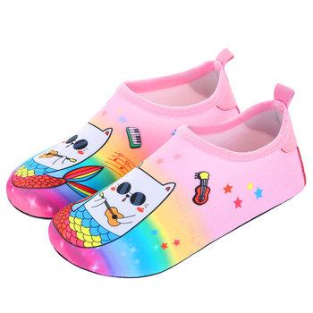 Pielęgnacja skóry dla dzieci ciepłe buty chłopcy i dziewczęta pływanie oddychające buty plażowe dziecko nie rozcięcie siateczka buty dziecięce dla rodziców duże rozmiary 22-35 tanie i dobre opinie VECTOR CN (pochodzenie) WOMEN Dobrze pasuje do rozmiaru wybierz swój normalny rozmiar Spring2018 Wsuwane Początkujący