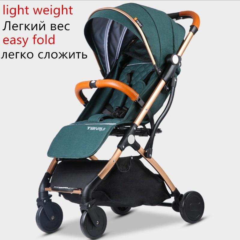 Baby Stroller Lightweight Travel-in Four Wheels Stroller from Mother & Kids