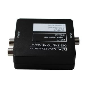 Image 5 - Digital to Analog DAC Audio Converter Optical Coax RCA Toslink Audio Sound Adapter Switch SPDIF decoder for Xbox 360 DVD