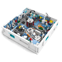 The Wandering Earth Air Space Station Building Blocks Model Sets Bricks Classic IDEAS Star War Marvel Movie For Children Toys