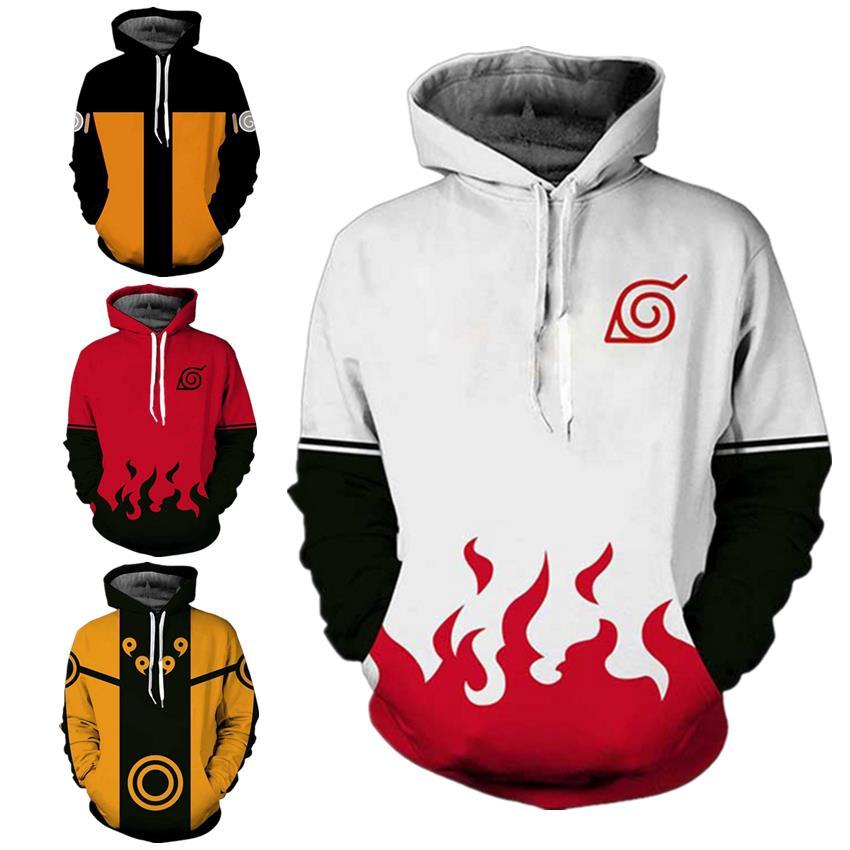 Anime Naruto Uzumaki Naruto Namikaze Minato Akatsuki Madara Hoodie Hoodie Sweater Jacket Sweatshirt Cosplay Costume Pullover