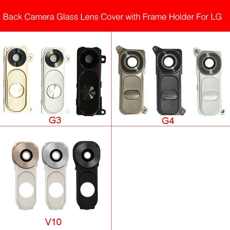 Rear Camera Glass Lens Cover For LG G3 G4 V10 D850 D851 D855 Back Camera Glass Lens Big Camera Cover Replacement Repair Parts