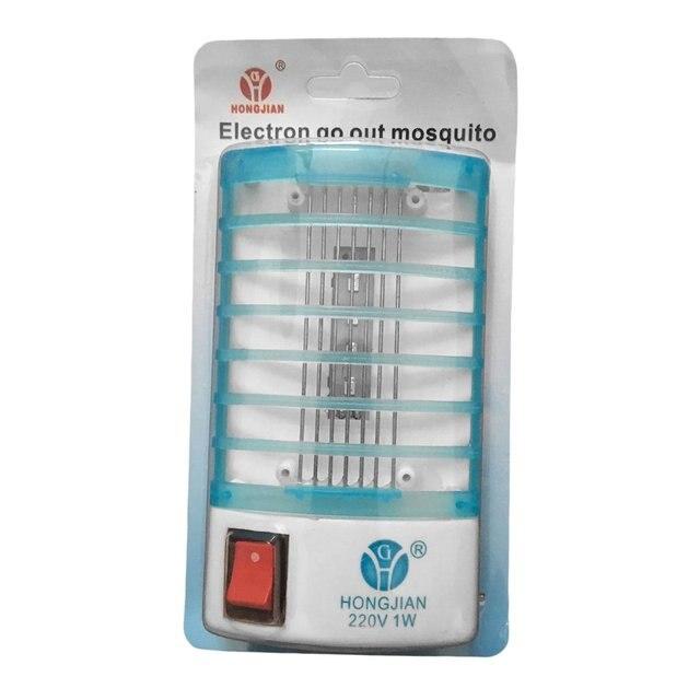 Electronics Mosquito Killer Trap Moth Fly Wasp Led Night Lamp Bug Insect Light Black Killing Pest Zapper EU/US Plug Wholesale