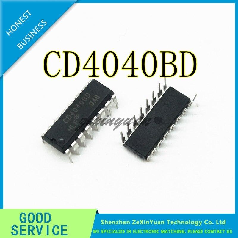 10PCS/LOT CD4040BE CD4040BD CD4040B CD4040 DIP-16 New